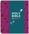 NIV Journalling Plum Soft-tone Bible with Clasp - Book