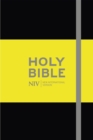 NIV Pocket Black Notebook Bible - Book