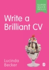 Write a Brilliant CV - Book