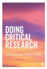 Doing Critical Research - Book
