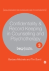 Confidentiality & Record Keeping in Counselling & Psychotherapy - eBook