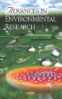 Advances in Environmental Research. Volume 68 - eBook