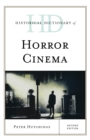 Historical Dictionary of Horror Cinema - Book