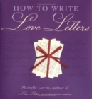 How to Write Love Letters - Book