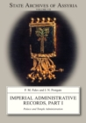 Imperial Administrative Records, part 1 : Palace and Temple Administration - Book