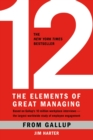 12: The Elements of Great Managing - eBook