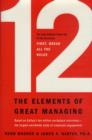 12: The Elements of Great Managing - Book