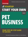Start Your Own Pet Business - Book