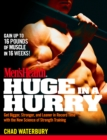 Men's Health Huge in a Hurry - eBook