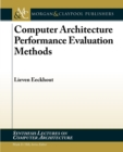 Computer Architecture Performance Evaluation Methods - Book