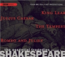 Shakespeare The Essential Tragedies, Volume 1 - Book