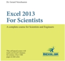 Excel 2013 for Scientists : A Complete Course for Scientists & Engineers - Book