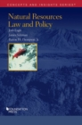 Natural Resources Law and Policy - Book