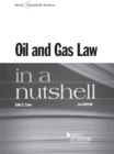 Oil and Gas Law in a Nutshell, 6th - eBook