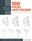 Draw Like an Artist: 100 Faces and Figures : Step-by-Step Realistic Line Drawing *A Sketching Guide for Aspiring Artists and Designers* - Book