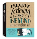 Creative Lettering and Beyond Art & Stationery Kit : Includes a 40-page project book, chalkboard, easel, chalk pencils, fine-line marker, and blank note cards with envelopes - Book
