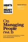 HBR's 10 Must Reads on Managing People, Vol. 2 - Book
