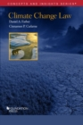 Climate Change Law - Book