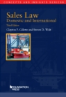Sales Law, Domestic and International - eBook