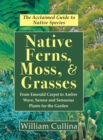 Native Ferns, Moss, and Grasses - Book