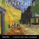 "Van Gogh Paintings 2021 Wall Calendar : Famous Art, 8.5"" x 8.5"", 12 Month Calendar Planner for Home, Work, Office Gifts - Book"