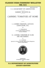 Canning Tomatoes At Home (Legacy Edition) : Classic USDA Farmers' Bulletin No. 521 - Book