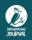 Birdwatching Journal : Birding Notebook - Ornithologists - Twitcher Gift - Species Diary - Log Book For Bird Watching - Equipment Field Journal - Book