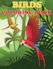 Birds Coloring Book : Beautiful Bird Designs, Fun Color Pages For Kids, Girls Birthday Gift, Journal - Book