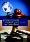 International Criminal Law and Procedure - Book