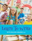 Learn to Write with Ruling Grades 2-3 - Book