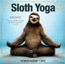 Sloth Yoga 2018 Wall Calendar - Book