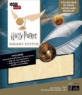 IncrediBuilds: Harry Potter : Golden Snitch 3D Wood Model and Booklet - Book