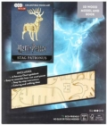 IncrediBuilds: Harry Potter : Stag Patronus 3D Wood Model and Book - Book