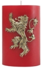 Game of Thrones House Lannister Sculpted Insignia Candle - Book