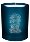 Game of Thrones: Iron Throne Glass Votive Candle - Book
