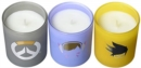 Overwatch: Glass Votive Candle Pack : Set of 3 - Book