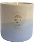 Meditation Ceramic Candle (11 oz) - Book