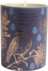 Jane Austen: Indulge Your Imagination Scented Candle (8.5 oz.) : [Dark Blue Bird] [Ceramic] - Book
