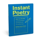Knock Knock Instant Poetry Journal - Book