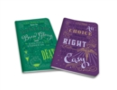 Harry Potter: Character Notebook Collection : Dumbledore and Snape Set of 2 - Book