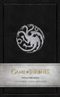 Game of Thrones: House Targaryen Ruled Notebook - Book
