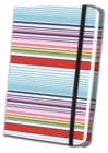 Thin Striped Fabric Journal - Book