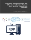 Evaluation of Some Websites that Offer Remote Desktop Protocol (RDP) Services, Virtual Phone Numbers for SMS Reception and Virtual Debit/Credit Cards - Book