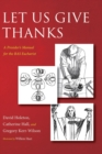 Let Us Give Thanks - Book