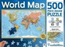 Puzzlebilities World Map : 500 Piece Jigsaw Puzzle - Book