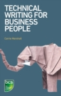 Technical Writing for Business People - Book