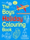 The Boys' Holiday Colouring Book - Book