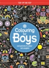 Colouring For Boys : Cool Pictures To Colour And Complete - Book