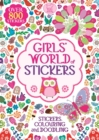 Girls' World Of Stickers - Book