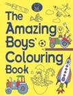 The Amazing Boys' Colouring Book - Book